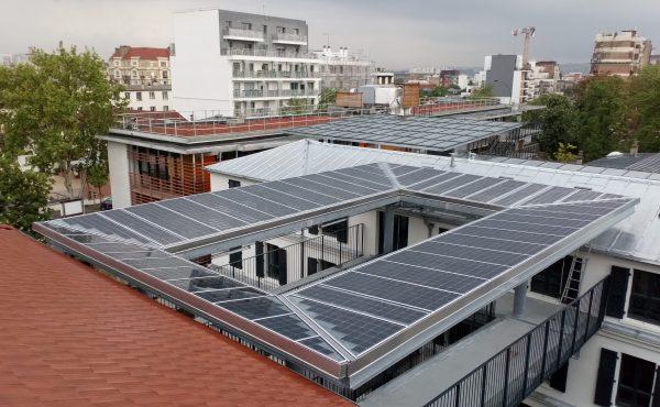 Verrière 12 kWc Lycée Jeanne d'Arc - Colombe 92